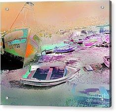 Marina De Huelva Acrylic Print by Alfonso Garcia