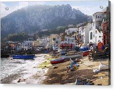 Marina Grande - Capri Acrylic Print