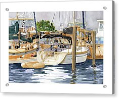 Marina Matrix Acrylic Print