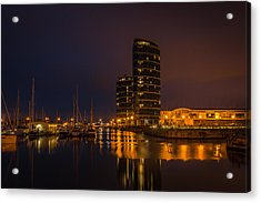 Acrylic Print featuring the photograph Marina by Ryan Photography