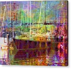 Marina Sunlight Acrylic Print