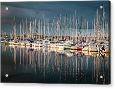 Marina Sunset 4 Acrylic Print