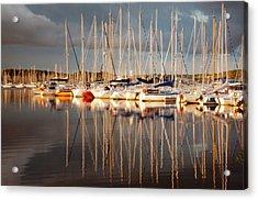 Marina Sunset 6 Acrylic Print