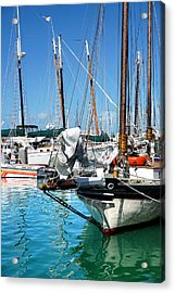 Marinas And Masts  Acrylic Print