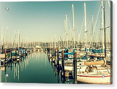 Marinaside Sausalito California Acrylic Print