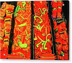 Marinated 3 Acrylic Print by Bruce Iorio
