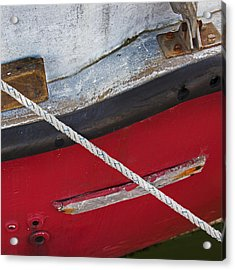 Acrylic Print featuring the photograph Marine Abstract by Charles Harden
