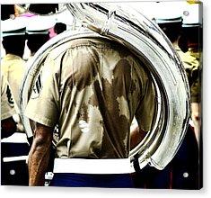 Marine Band Acrylic Print by Kevin Duke