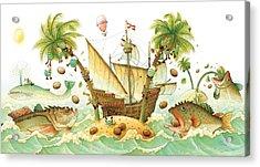 Marine Eggs Acrylic Print by Kestutis Kasparavicius