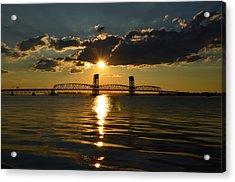 Marine Park Gil Hodges Bridge Acrylic Print