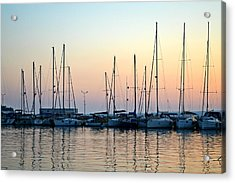 Marine Reflections Acrylic Print