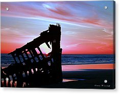 Mariners Sky 20 Acrylic Print by Steve Warnstaff