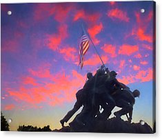 Marines At Dawn Acrylic Print