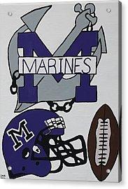 Marinette Marines. Acrylic Print