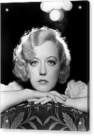 Marion Davies, Early 1930s Acrylic Print by Everett