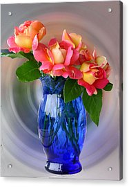 Marions Roses Acrylic Print