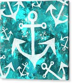 Maritime Anchor Art Acrylic Print by Jorgo Photography - Wall Art Gallery