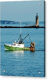 Maritime Acrylic Print by Greg Fortier