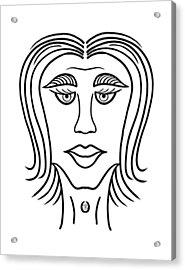 Mariza Acrylic Print