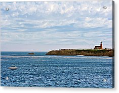 Mark Abbot Memorial Lighthouse - Lighthouse On The Beach - Santa Cruz Ca Usa Acrylic Print