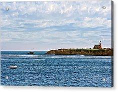 Mark Abbot Memorial Lighthouse - Lighthouse On The Beach - Santa Cruz Ca Usa Acrylic Print by Christine Till
