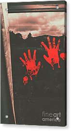 Mark Of Murder Acrylic Print by Jorgo Photography - Wall Art Gallery