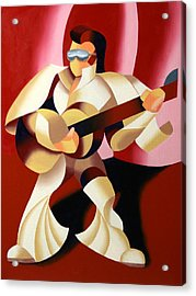 Mark Webster - It's Good To Be The King Acrylic Print by Mark Webster