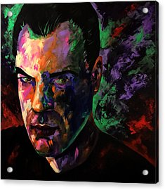 Acrylic Print featuring the painting Mark Webster Artist by Mark Webster