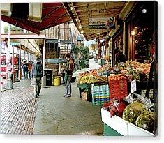 Market Alley Wares Acrylic Print