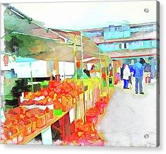 Market Day Acrylic Print