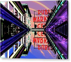 Market Entrance Acrylic Print