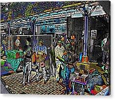Market Interlude 2 Acrylic Print by Tim Allen