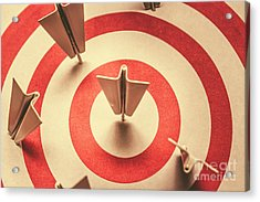 Marketing Your Target Market Acrylic Print by Jorgo Photography - Wall Art Gallery