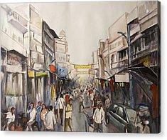 Marketplace Acrylic Print