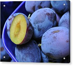 Marketplace Plums Acrylic Print