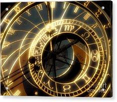 Marking Time Acrylic Print by Ann Garrett