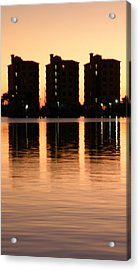 Marmelade Skies At Condo Heaven Acrylic Print by Rose  Hill