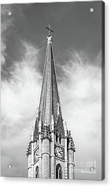Marquette University - Church Of The Gesu Acrylic Print by University Icons
