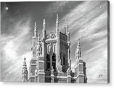 Marquette University Marquette Hall Acrylic Print by University Icons