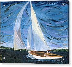 Marraige Acrylic Print by Impressionism Modern and Contemporary Art  By Gregory A Page