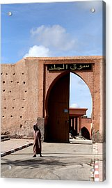 Acrylic Print featuring the photograph Marrakech 1 by Andrew Fare