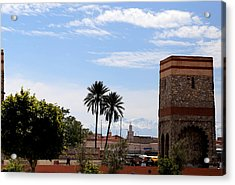 Acrylic Print featuring the photograph Marrakech 2 by Andrew Fare