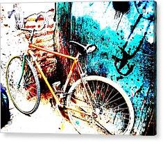Marrakech Funky Bike  Acrylic Print by Funkpix Photo Hunter
