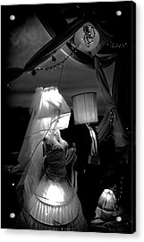 Acrylic Print featuring the photograph Marriage Of Darkness And Light by Alan Raasch
