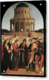 Marriage Of The Virgin - 1504 Acrylic Print by Raphael