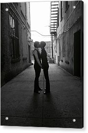 Married Acrylic Print by Shannon Lee Parker-Ferentinos