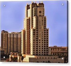 Marriott Of Tampa Bay Acrylic Print