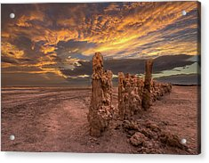 Acrylic Print featuring the photograph Mars by Peter Tellone