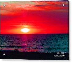 Mars Sunset Acrylic Print