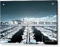 Marseille Blues Acrylic Print by John Rizzuto